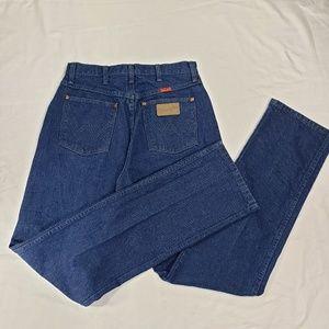 Wrangler Cowboy Cut Slim Indigo Jeans Long